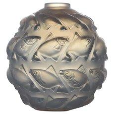 R. Lalique Camaret Vase, No. 1010, 1928-1937, designed 1928