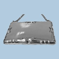 Silver Card Case Aide Memoire Purse Birmingham 1908 William Haseler