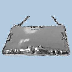 Silver Card Case Aide Memoire Purse Birmingham 1908 William Haseler
