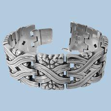 Georg Jensen Sterling rare Harald Nielsen design Bracelet 1933-1944