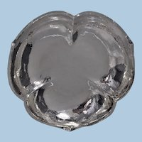 American Randahl Sterling Silver Hammered Bowl, Chicago C.1930.