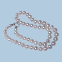 Strand of Cultured Fresh Water Pearl Necklace 29.75 inches