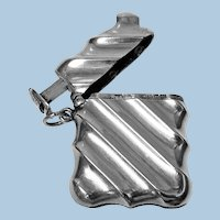 Combination Silver 'Unity Patent' Vesta case & Cigar cutter, Birmingham 1888 Horton & Allday