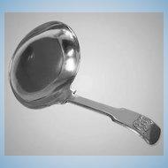 Antique Georgian Silver Tea Caddy Spoon, London 1813, Josiah Snatt.