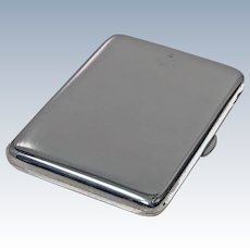 Antique  Silver Business Card Case, Chester 1904 Colen Hewer Cheshire