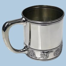 Antique J.E.Caldwell Sterling Silver Cup, C.1900