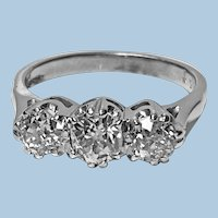 Antique 14 Karat Diamond Ring, circa 1930