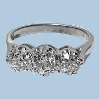 Antique 14 Karat Diamond Ring, circa 1930