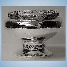 A.E.Jones Arts and Crafts Silver Bowl, Birmingham 1920