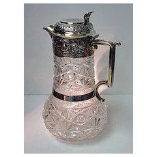 Silver Claret Jug 1898, W & C. Sissons