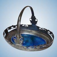 Liberty Knox Enamel Tudric Pewter Dish