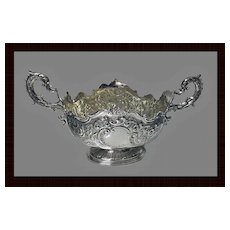 Fine Antique Victorian English Silver Centrepiece, London 1900, Barnard