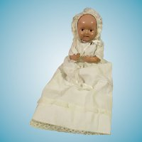 Cute celluloid baby by Jackson & Perkins Cleveland Ohio 11 inch