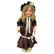 Armand Marseille bisque head doll Germany ,17 inch