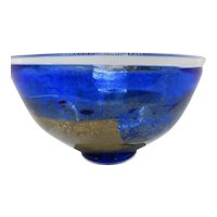 Kosta Boda Cobalt Blue Bertil Vallien design