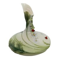 Franz Collection Ladybug Sculpted Vase 2004