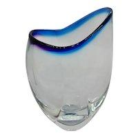 Contemporary Art Glass Don Gonzalez Vase
