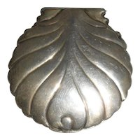 Sterling Box Scallop Shell Shape Tiffany & Co. 19th c.
