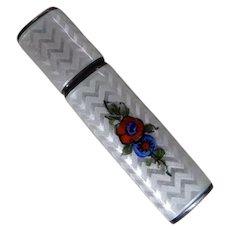Guilloche Enamel Ladies Cigarette Lighter