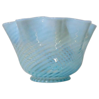 Blue Opalescent Swirl Fitter Shade Large size