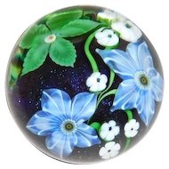 Orient and Flume Paperweight 1983 Flowers and Canes