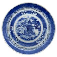 Fitzhugh Pattern Chinese Export 6 Dessert Plates