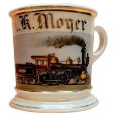 Occupational Shaving Mug Locomotive