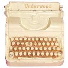 Underwood Typewriter Bank 1939 World's Fair