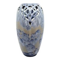 Crystalline Pottery Contemporary Vase by Frank Neef