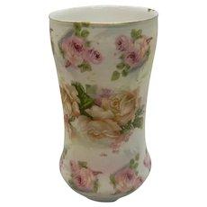Royal Bayreuth Rose Tapestry Vase