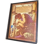 """Maxfield Parrish Illustrated Book """"Poems of Childhood"""""""