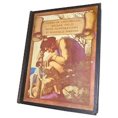 "Maxfield Parrish Illustrated Book ""Poems of Childhood"""