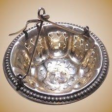 Silver Tea Strainer for Teapot Antique