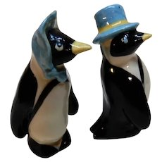Ceramic Arts Studio Penguin Salt and Pepper