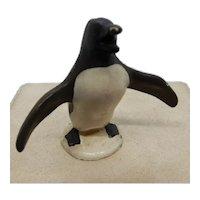 Penguin Hubley Cast Iron Paperweight