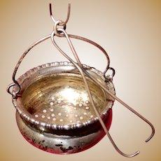 Sterling Tea Strainer for Tea Pot