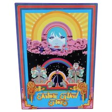 Sandie Shaw Shoes Tin Advertising Sign 1960's