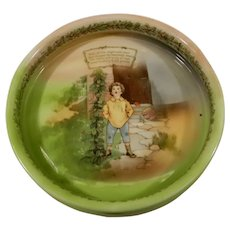 Royal Bayreuth Children's Feeding Dish Jack and Beanstalk