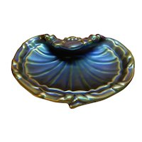 Zsolnay Scallop Shell Form Dish