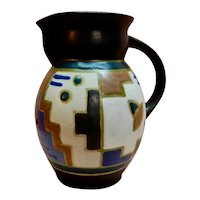 Erphila Art Pottery Germany Abstract Art Deco Gouda - like