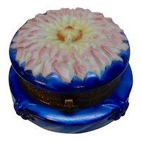 Wavecrest Zinnia or Dahlia Cobalt Dresser Box