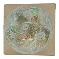 Glass Eye Studio 1993 Dichroic Paperweight