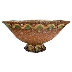 Roseville Pottery Ferella  Large Centerpiece Bowl