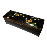 Cloisonne' triple Stamp Box 1920's