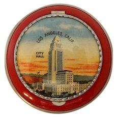 Vintage Compact Los Angeles Souvenir