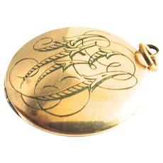 AEI Gold Filled Locket Pendant