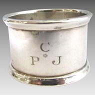 Gorgeous Gorham Sterling Silver Heavy Napkin Ring