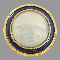 Man on The Moon Face Brooch MMA Metropolitan Museum Of Art FBS Celestial