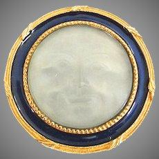 Man on The Moon Face Brooch MMA Metropolitan Museum Of Art FBS Celestial