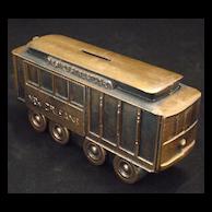 'Streetcar Named Desire' Still Bank in bronzed spelt metal
